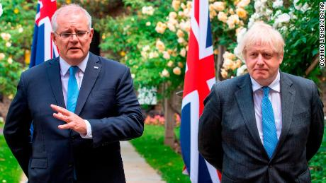 Australia's Scott Morrison doesn't deny pressuring UK to drop climate asks from trade deal