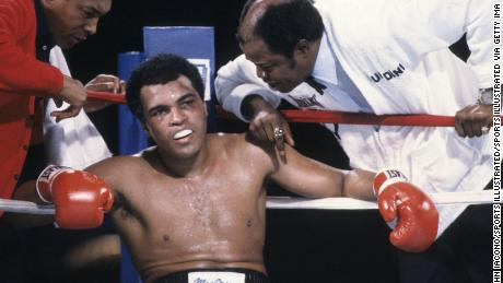 """""""It was like watching a train wreck"""" was how journalist Dave Kindred described Ali's loss to Larry Holmes in October 1980."""