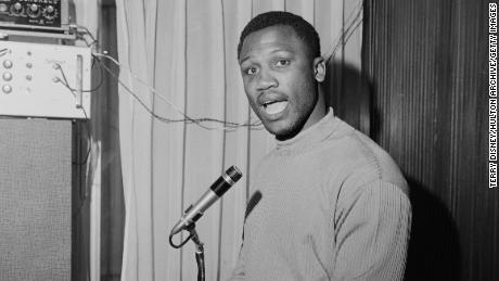 Joe Frazier, photographed in 1968.