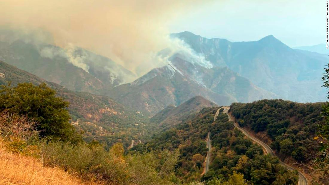 Sequoia National Park threatened by California wildfires - CNN