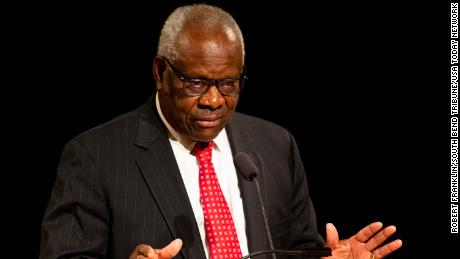 Justice Clarence Thomas says judges are 'asking for trouble' when they wade into politics
