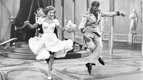 """Powell starred alongside Fred Astaire in the hit 1951 movie """"Royal Wedding."""""""