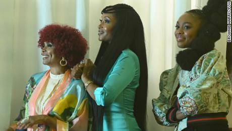 "Debbi Morgan, Yaya DaCosta and Alana Bright in ""Our Kind of People."""