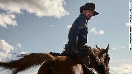 """Benedict Cumberbatch as rancher Phil Burbank in """"The Power of the Dog."""""""