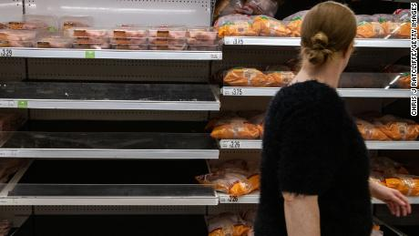 Gas prices in the UK could trigger food shortages within weeks
