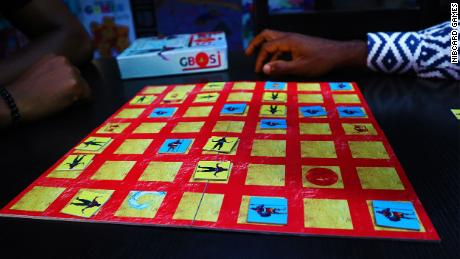 """""""Gbosi,"""" debuting in 2018, is a tile placement war game."""