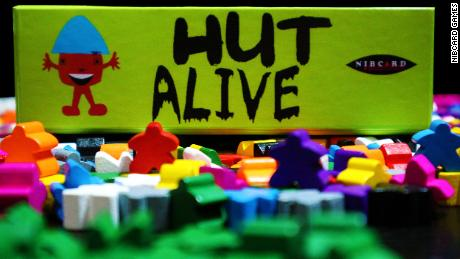 """""""Hut Alive,"""" created by Ogbuagu in 2017, is an elimination card game for up to six players."""