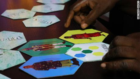 """Created in 2017, """"Homia"""" is a memory and recognition game card game where players race to build their Nigerian home to win."""