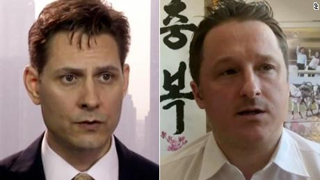 Two Canadians imprisoned by China have been released, Prime Minister Trudeau says