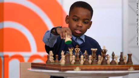 Tani Adewumi started playing chess seriously three years ago after his family moved to the US.