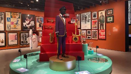 Director Spike Lee's suit, which he wore in honor of Kobe Bryant to the 2019 Oscars,  is among the items on display at the Academy of Motion Pictures Museum.