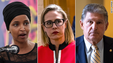 """Rep. Ilhan Omar said Monday, """"We obviously didn't envision having Republicans as part of our party."""""""