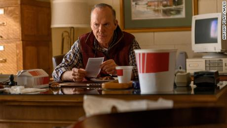 Michael Keaton joins an ensemble cast in 'Dopesick,' a Hulu miniseries about Purdue Pharma and OxyContin.