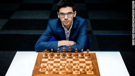 Four-time Dutch chess champion, Giri beat Carlsen in 22 moves at the Tata Steel Chess Tournament in 2011.