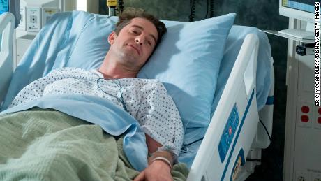 Scott Speedman, seen here in a 2018 episode of 'Grey's Anatomy,' returned in this week's season premiere.