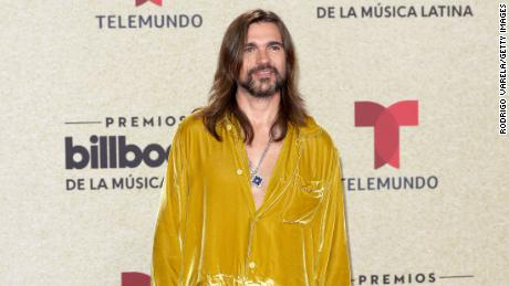 Juanes attends the 2021 Billboard Latin Music Awards at Watsco Center on September 23, 2021 in Coral Gables, Florida.