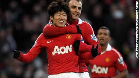 The South Korean is still adored by Manchester United fans.