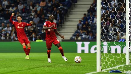 Liverpool's Sadio Mane is set to represent Senegal during the international break.