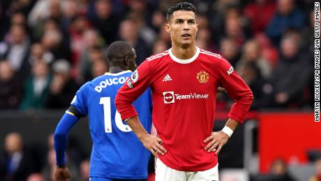 Ronaldo's second-half substitution was not enough to prevent a 1-1 draw with Everton.
