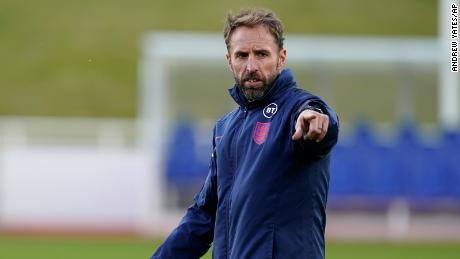 """""""As I've said all along, I don't see a better way of getting through the pandemic than a vaccination programme,"""" England coach Gareth Southgate said ahead of the World Cup qualifier against Andorra."""