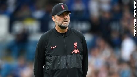 Liverpool manager Jurgen Klopp has said by refusing to be vaccinated you  endanger others.