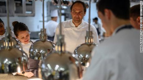 Humm and his staff have faced some scathing reviews of the new Eleven Madison Park.