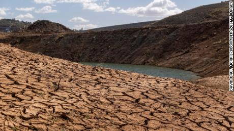 Drought conditions in California this summer were the worst on record