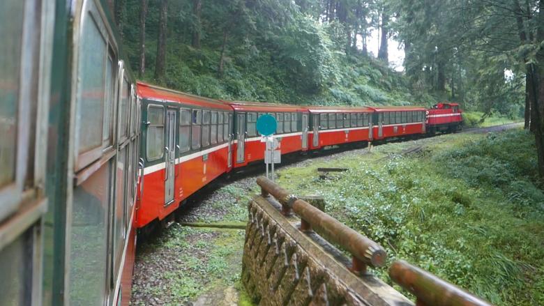 In Alishan, ride Taiwan's mountain railway over a century