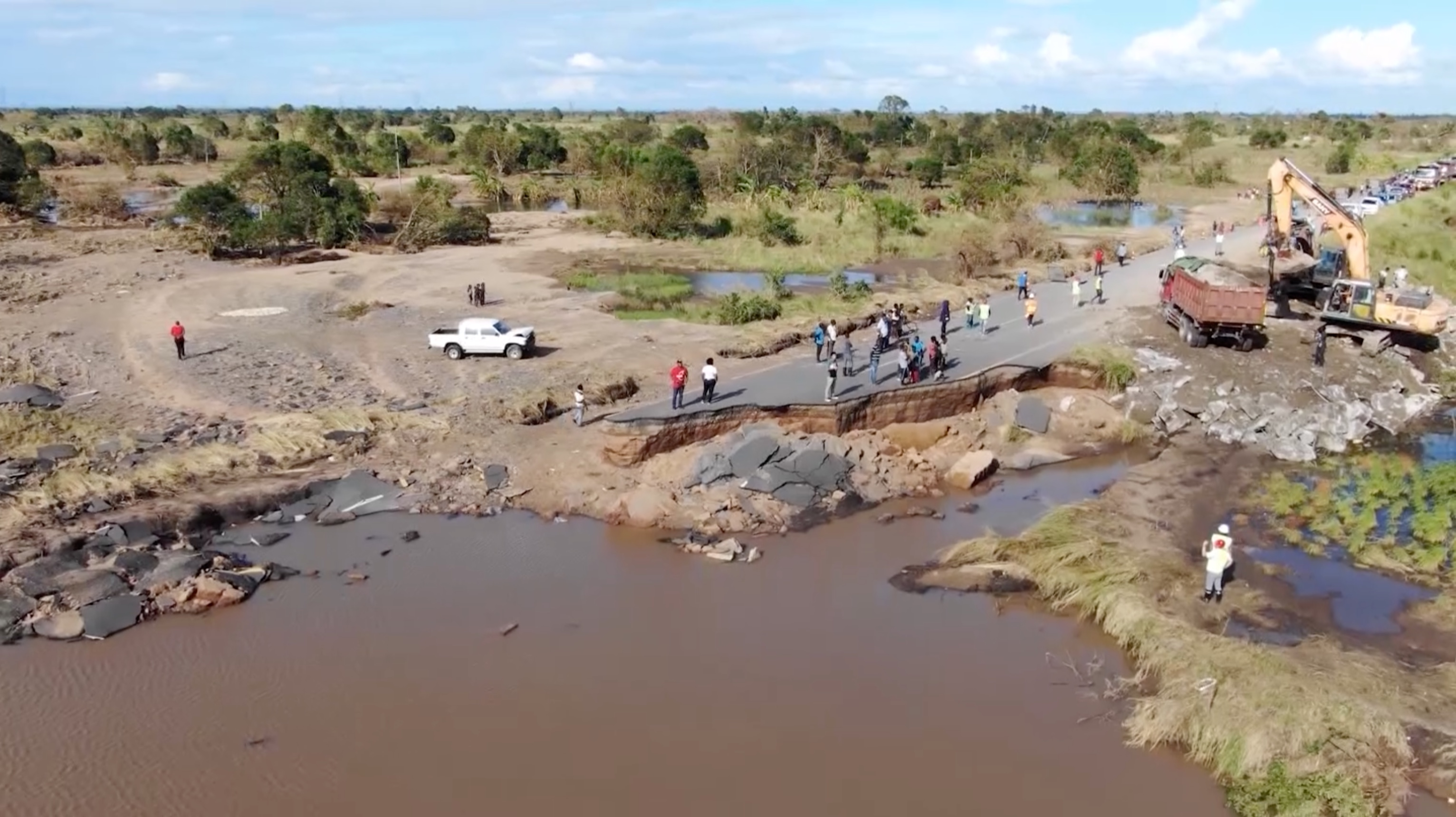 Cyclone Idai knocked this thriving port city into an earlier age