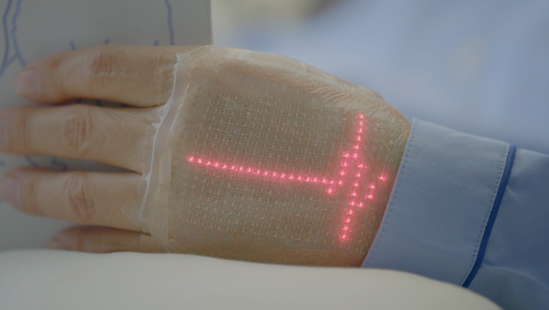 Wearable electronic skin could monitor your health