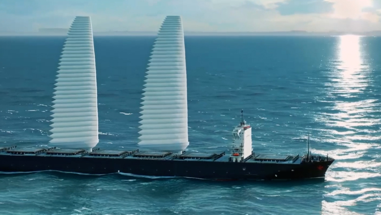 Giant inflatable sails could make shipping greener | CNN Travel