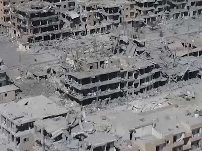 Image result for syria in ruins