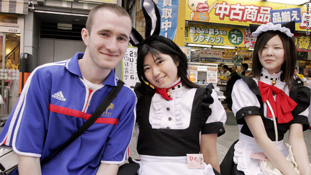 Another gaijin in Akihabara is par for the course in Tokyo's mecca for otaku.