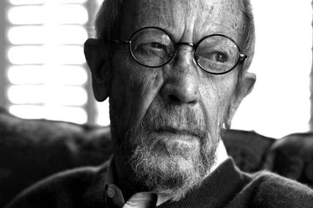 Elmore Leonard has written 45 books, and some have been turned into movies or TV shows.