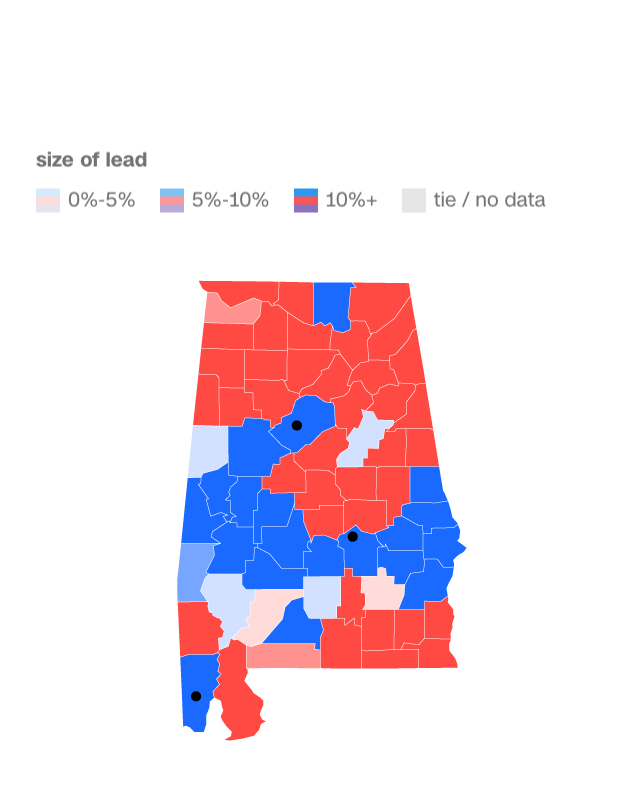 2017 elections alabama senate county map results