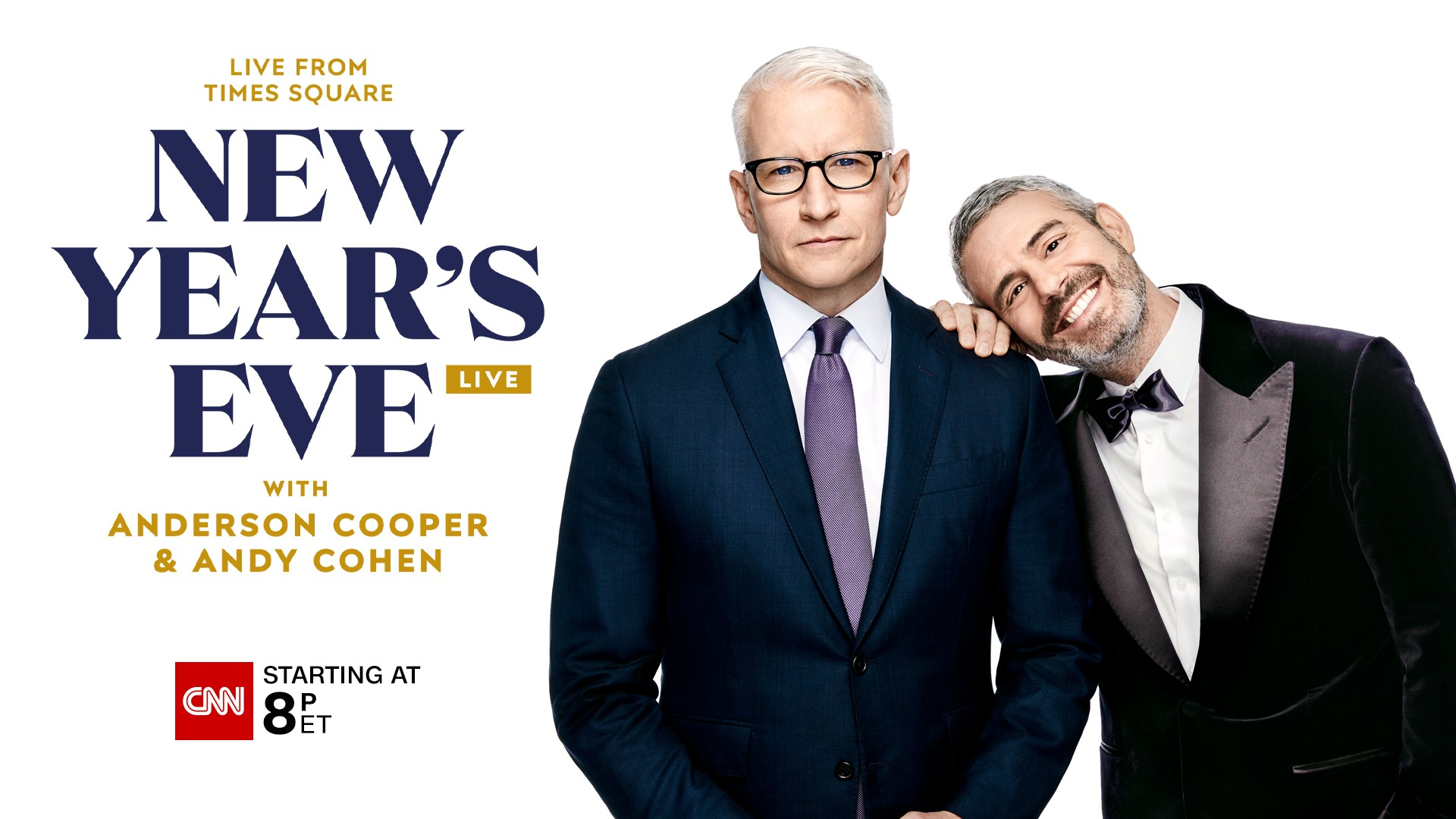 Anderson Cooper and Andy Cohen Together Again to Co-Host ...