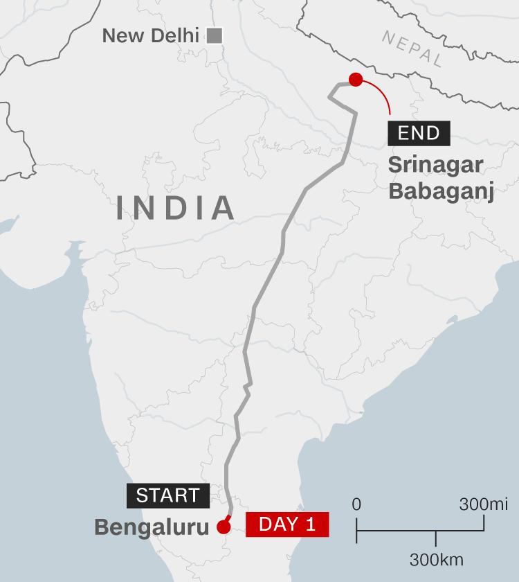 India's coronavirus lockdown: One man's agonizing 1,250-mile journey home … on foot