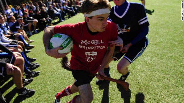 Last year's Quidditch World Cup was held in a Manhattan park.