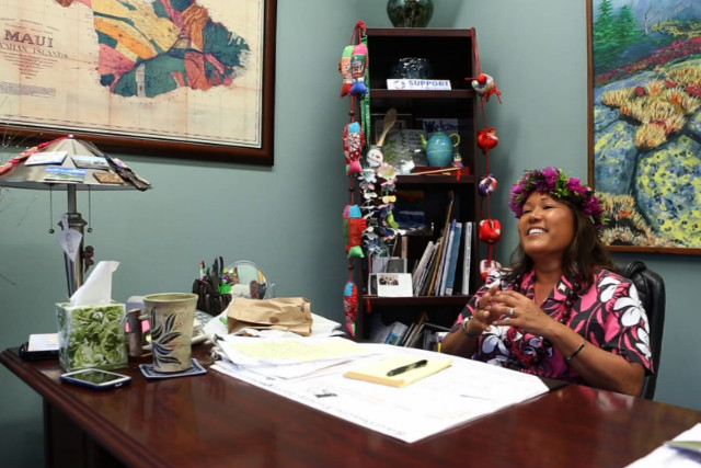 Elle Cochran, now a Maui county councilwoman, never voted until she ran for office.