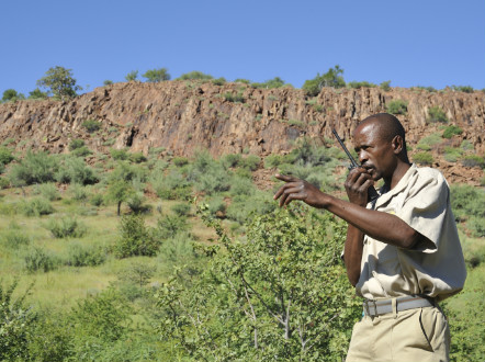 In Namibia, former poachers are now gamekeepers - (Courtesy WWF Namibia)