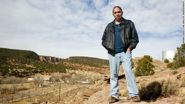 Mark Charles plans to read aloud in Washington on Wednesday an apology that the U.S. issued to Native Americans.