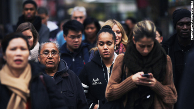 America's population is growing at a slower pace than was previously projected, the Census Bureau says.