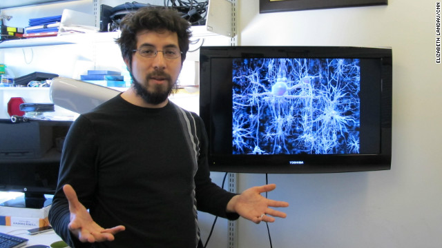Ed Boyden leads the synthetic neurobiology group at MIT.