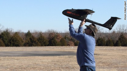 Fireflight's Scout is a light, portable unmanned aerial vehicle that its maker says is easy to launch and recover.