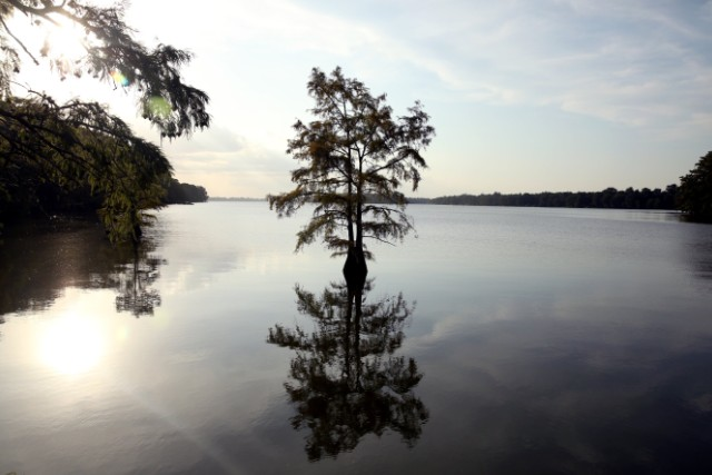 Lake Providence largely divides rich from poor in rural Louisiana.