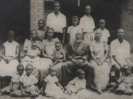 Born into a family of 19 children, Kalibala was raised by her reverend grandfather after her father left the family. - (Courtesy Galadys Kalibala)