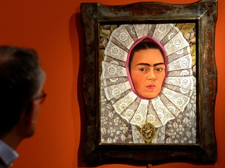 Over 110 pieces are on display at the Frida Kahlo exhibition in Rome. - (Getty Images)