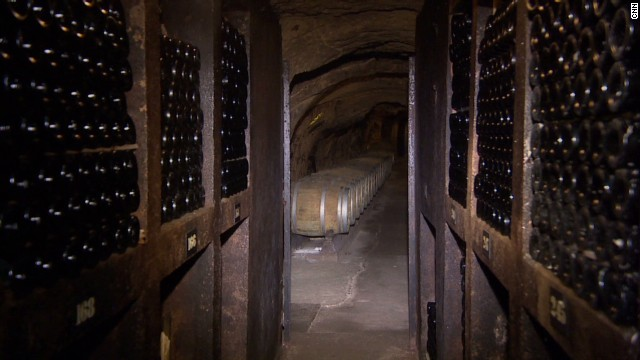 The ancient cellars of the Ksara wine company (Courtesy CNN)