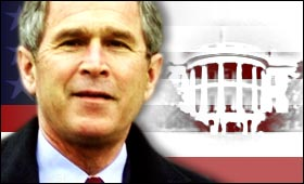 Bush, now president-elect, signals will to bridge partisan gaps