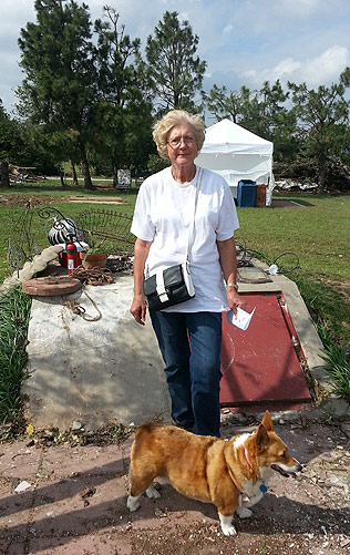 """Ann Eades plans to move into the suburbs because of the tornado. She prefers """"country living."""""""